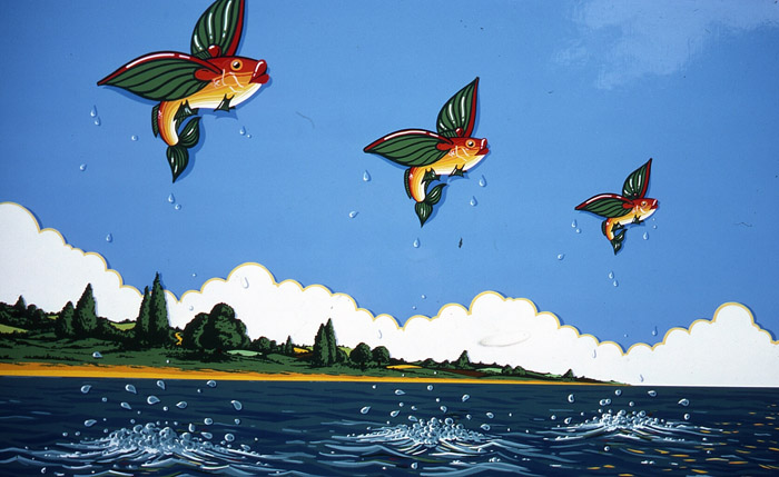 flying fish by cacodaemonia - photo #42